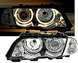 AD Tuning GmbH & Co. KG 960552 Angel Eyes Fernscheinwerfer Set, Klarglas Chrom