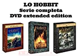 LO HOBBIT - TRILOGIA COMPLETA EXTENDED EDITION - 15 DVD - 3 COFANETTI SINGOLI ITALIANI