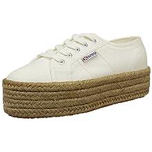 Superga 2790 COTROPEW, Sneakers Femme Blanc (901 White) 39.5 EU