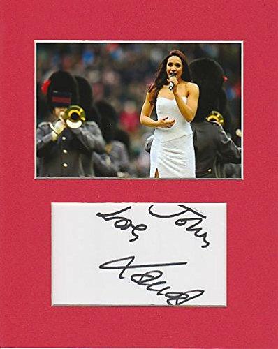 Sopran–Laura Wright Original Authentic Autogramm AFTAL COA