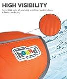 Kyjen 22019 Outward Hound Ripstop Quick Release Easy Fit Rettungsweste für Hunde, verstellbar, Größe S, orange - 3