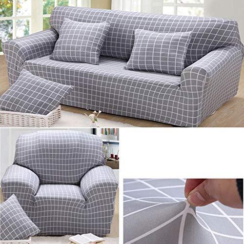 Alextry stile europeo stretch sectional sofa covers morbido slipcovers di divano elasticizzata per singolo due tre quattro posti, 3, for four seats