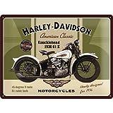 Nostalgic Art Harley Davidson Knucklehead -