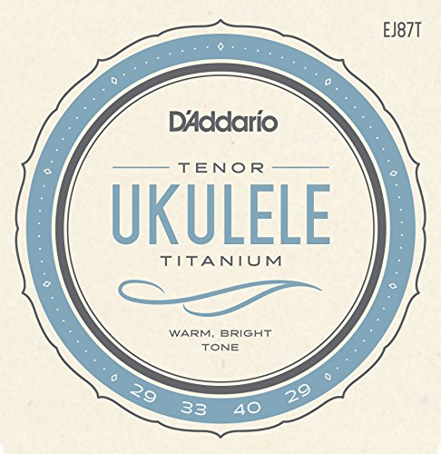 D'Addario EJ87T - tenor de titanio
