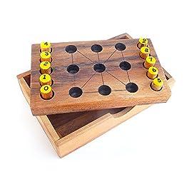 Logica Giochi art. MAGIA DEI NUMERI – 3 GIOCHI IN 1 – 2 rompicapo + 1 gioco per 2 persone