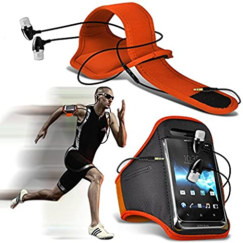 ( Orange + Ear phone 154 x 74) Wiko Robby