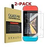 Shentesel Displayschutzfolie aus gehärtetem Glas, 9H für Nintendo Switch, 2 Stück