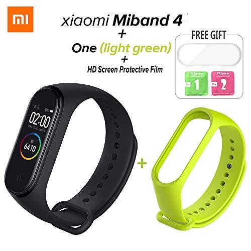 Nishci Xiaomi Mi Band 4 Bracciale Smart Band con Monitor a Colori Monitoraggio del Sonno Step Calorie Counter Fitness Tracker Impermeabile Bluetooth 5.0 Wristband per Uomini e Donne