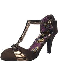 Joe Browns Damen Gatsby Vintage T-Bar Shoes