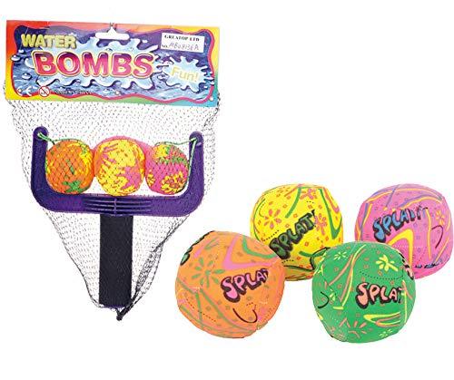 7 STK Splash Ball Wasserbombe mit Schleuder Pool-Spielzeug