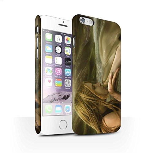 Officiel Elena Dudina Coque / Clipser Matte Etui pour Apple iPhone 6 / Sonrisas/Dauphin Design / Agua de Vida Collection Sonrisas/Dauphin