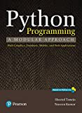 #7: Python Programming: A modular approach by Pearson