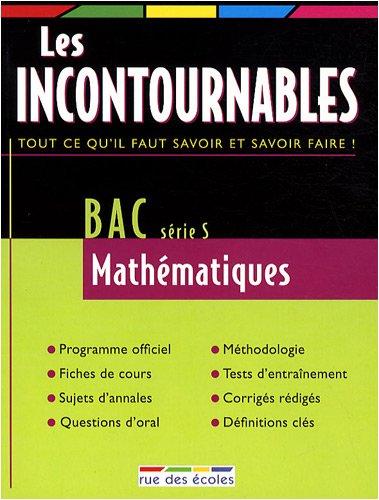 Bac Mathématiques série S