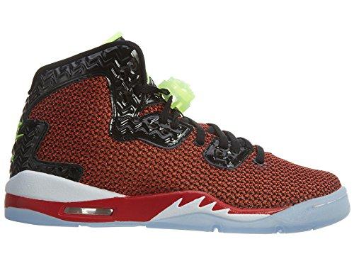 Nike - Air Jordan Spike Forty Bg, Scarpe sportive Bambino Multicolore (Rojo / Negro / Blanco (Unvrsty Red / Ghst Grn-Blk-White))
