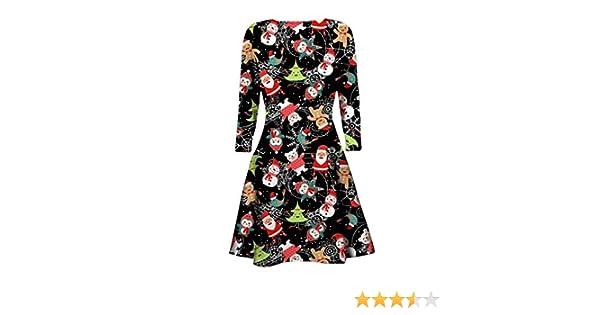95153607b60ad New Women Ladies Christmas Xmas Novelty Jumper Tunic Size Top Long Sleeve  Dress UK 8-26 (ML (UK 12-14)