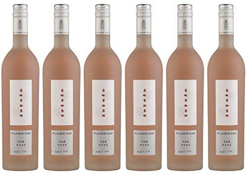 Plaisir Ose Vin Rosé 75 cl - Lot de 6
