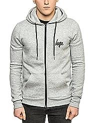 Hype - Veste de sport - Sweatshirt à capuche - Uni - Homme