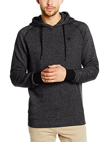 JACK & JONES Herren Kapuzenpullover Jcowin Sweat Hood Noos, Schwarz (Black Fit:Reg Mel), Medium (Jack Baumwolle)