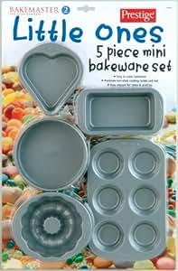 Prestige BakeMaster 2 Non-Stick Mini Bakeware Set, 5 Piece