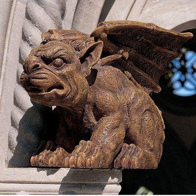 Design Toscano Der Gargoyle von Castle Avonshire, Skulptur - Gargoyle Castle
