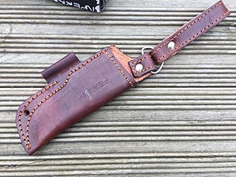 Amazing Value- Handmade Leather Sheath For hunting / Bushcraft Knife