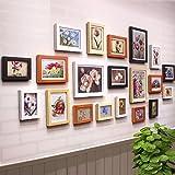 Galleria fotografica X&L cornici per foto da 5 pollici da 7 pollici da 10 pollici solida qualità legno parete parete foto della decorazione...
