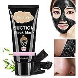 Black Mask,Mascarilla Exfoliante Facial,Mascarilla Carbon Activo,Black Mask Peel Off, Mascara Limpieza Facial Profunda,contra los Puntos Negros, acné y piel aceitosa.60g