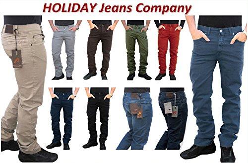 In 48 Made 58 60 52 Comfort Pantalone Tg46 54 Cotone 56 Jeans Italy Elasticizzati ModEtanleggeroestivoUomo 50 Holiday nkwXZNOP80