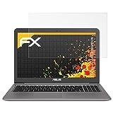 atFolix Schutzfolie für ASUS ZenBook UX510UW Displayschutzfolie - 2 x FX-Antireflex blendfreie Folie