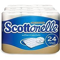 Scottonelle Carta Igienica Soffice e Trapuntata, 24 Rotoli