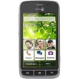 Doro 820mini–Contact libre, Android 4.4.2, 512MB, couleur noir et argent