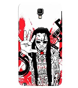 PrintVisa Music Rock star Rap 3D Hard Polycarbonate Designer Back Case Cover for Samsung Galaxy Note 3 Neo