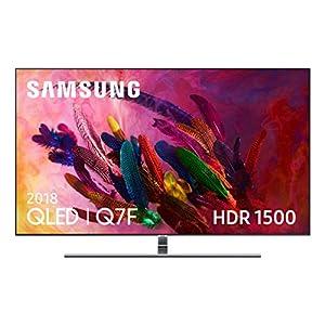 Samsung-QLED-2018-55Q7FN-Smart-TV-Plano-de-55-4K-UHD-resolucin-HDR-1500-Control-One-Remote-One-Connect-Cable-Invisible-versin-espaola-Color-Plata