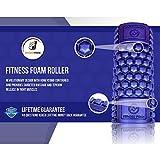 Muscle Foam Roller – Schaumstoffrolle zur Selbstmassage und für Pilates, CrossFit, Yoga, Laufen, Physiotherapie, Linderung myofaszialer Schmerzen - 2