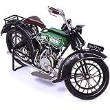 Modelo de la motocicleta - BSA modelo E - diseño de chapa con diseño de modelo