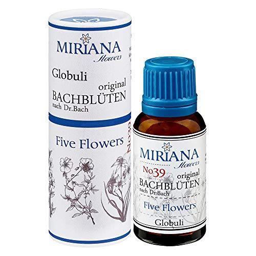 Five Flower (MirianaFlowers Five Flowers 20g Bachblüten Globuli)