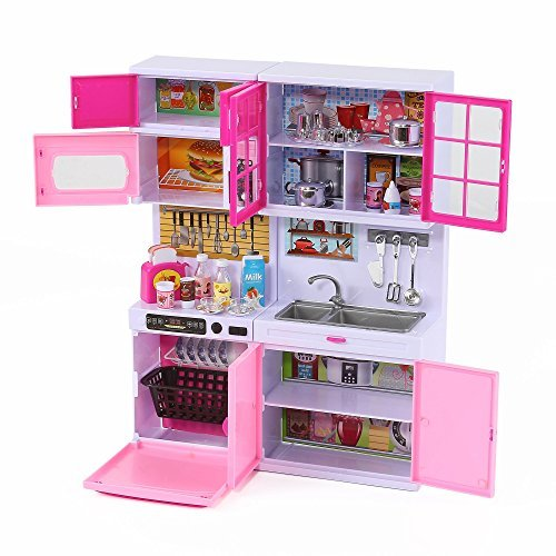 happy-emily-toy-kitchen-set-for-11-12-dolls-w-lights-sound-complete-w-dishwasher-microwave-toaster-p