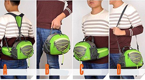 5 All Sling-Rucksack Sling Bag Chest Pack Taschen HANDY Tasche Outdoor Sports Camouflage Trekkingrucksack als Radfahr Jogging-Rucksack Kettle Paket Blau G
