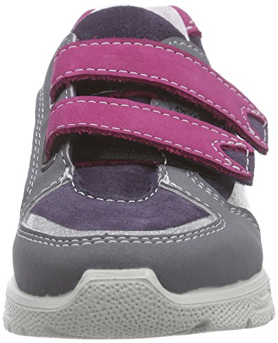 Ricosta Friis, Baskets Basses fille Gris - Grau (blackberry/pop 329)