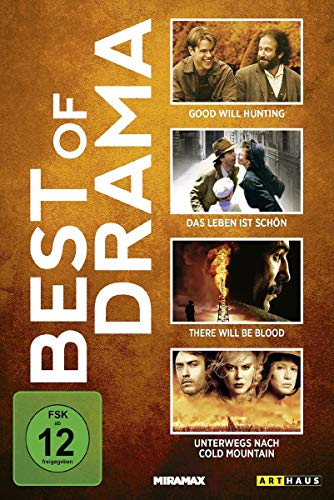 Best of Drama: Das Leben ist schön / The Good Will Hunting / There Will Be Blood / u.a. [4 DVDs]