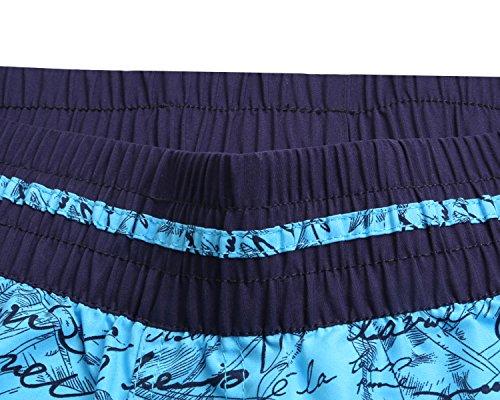 YuanYan Badehose Damen Strandshorts Schwimmanzug Bikinishorts Mit Mehreren Farben Blau