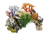 Nobby Pierre de Corail avec Plantes Décoration pour Aquarium 14 x 7,5 x 8,5 cm