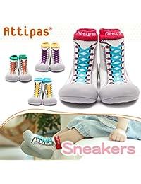 attipas nuevo Zapatillas Azul Bebé Walker–Zapatos de bebé Zapatos Zapatillas