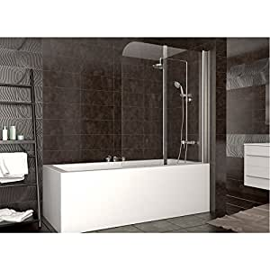 duschabtrennung badewanne duschwand badewannenfaltwand. Black Bedroom Furniture Sets. Home Design Ideas