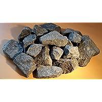 10 kg Deutsche Aufguss Saunasteine Basalt 8 -15 cm - Sauna Steine - LIEFERUNG KOSTENLOS