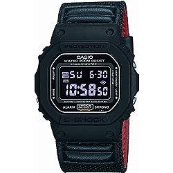 G-Shock DW-5600B Heritage - Reloj de Pulsera (Talla única), Color Negro