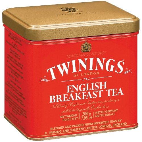 Twinings Colazione Inglese tè sfuso, 200g, confezione da 2 - Twinings Colazione Tè
