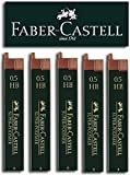 Faber-Castell SUPER-POLYMER Feinminen (5 Dosen, 0,5 HB)