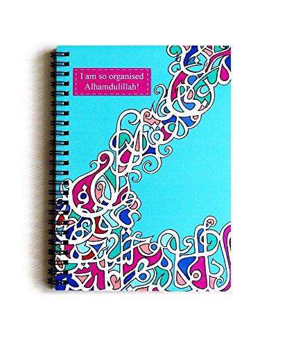 Islamische Kalligraphie Notebook, A5Planer, JOTTER, Organizer, Spirale, lose Blatt, Kunst