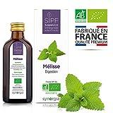 Mélisse bio française  Solution buvable de plantes fraîches  Digestion  Origine...